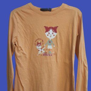 Mexx Orange Shirt Girl 8-10